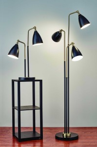 Adesso_Chelsea      LED Table_Floor Lamp